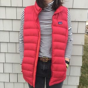 Patagonia down puffy vest !